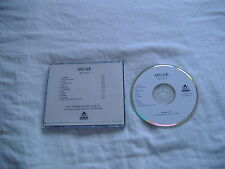 MUSE SHOWBIZ AMERICAN IMPORT PROMO CD VERY GOOD CONDITION! VERY RARE!