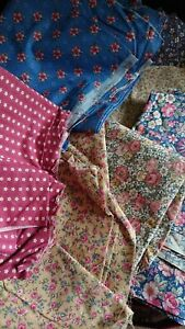Job lot Vintage 100% cotton fabric floral prints Joan Kessler Concord Fabrics