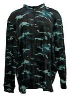 Cuddl Duds Women's Jacket Plus Sz 2X Double Plush Velour Full Zip Green A381751