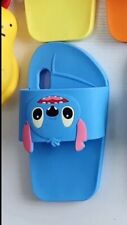 Cute Cartoon Slipper Silicon LILO and Stitch case for iphone  x/xs