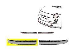 Nouvelle FIAT 500 PARE-CHOC INF AVANT CHROME moulage Gauche N//S 2007-2014 735455056