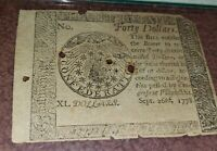 September 26, 1778 Counterfeit Detector $40.00 PMG 10