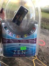 Creative Zen Nano Plus 1GB FM Radio Tuner MP3 Player Digital Voice Recorder Blue
