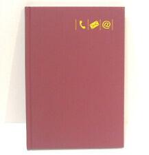 BRUNNEN Adressbuch A5 großes Register diversen Farben 1064655 Pink