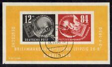 DDR Mi. Nr. Block 7 PF  d  ( Schrage Zus.Dr. CD) Ortsstempel bitte lesen + Scan