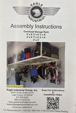 Eagle Industrial 4' X 8' Overhead Storage Rack