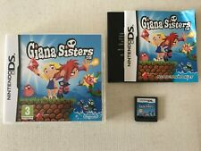 Giana Sisters DS - Nintendo DS (TESTED/WORKING) UK PAL VERY RARE
