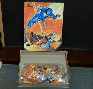 """Centurions jigsaw Puzzle #4632 missing 1 piece 1986 14"""" by 18"""" Science Fiction"""