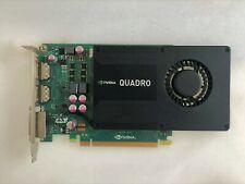 NVIDIA Quadro K2000 2GB GDDR5 Dual Display Port DVI PCIe X16