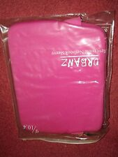 urbanz reversible netbook sleeve 9-10.4 inches pink one side black the other