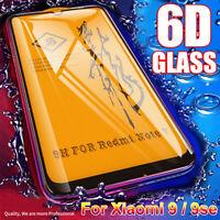 Full Cover Case Tempered Glass Film For Xiaomi Mi 9 se Redmi Note 7 pro
