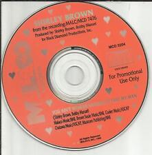 SHIRLEY BROWN you Ain't Woman Enough to Take my Man PROMO DJ CD Single 1995 USA