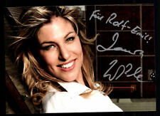 Laura Wilde Autogrammkarte Original Signiert ## BC 41919