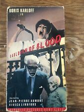 cauldron of blood vhs horror boris karloff republic video 1990 halloween