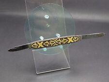 Altes kleines Taschenmesser Toledo tolles Muster (8117)