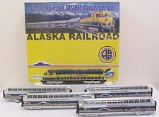 MTH 20-2290-1 Alaska SD70M Diesel Passenger Train Set with PS2.0 EX/Box
