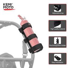 Fire Extinguisher Holder Belt Strap Adjustable Roll Bar Mount for UTV Can Am RZR