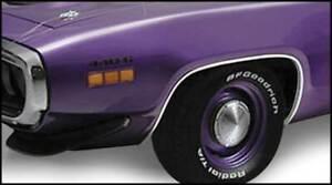 1971-72 Plymouth Satellite, Road Runner & 71 GTX Wheel Opening Molding Set