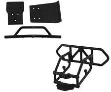 RPM Traxxas Slash 4X4 Black Front and Rear Bumper Kit 80122 80022