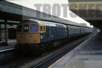 35mm Slide BR British Rail Diesel Loco Class 33 33012 1986 Original