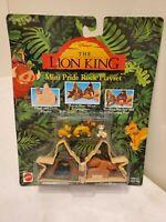 Vintage Disney Mattel The Lion King Mini Pride Rock Playset New Sealed
