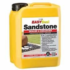 Easy Seal Sandstone Enhancer & Sealer | 5Ltrs Professional Grade  | Water Oil