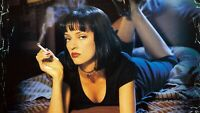 "Pulp Fiction Movie Scene 13"" x 19"" Action Figure Backdrop Photo Poster 02"