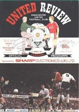 M Surname Initial Signed Football Programmes
