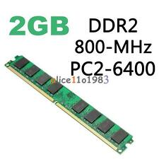 2GB DDR2 800MHZ PC2-6400 240PIN Memory RAM For AMD CPU Motherboard Desktop