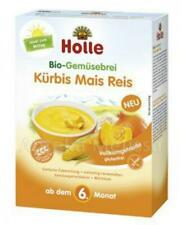 Holle Pumpkin Maize Rice Organic Vegetable Baby Porridge Cereal-FREE SHIPPING