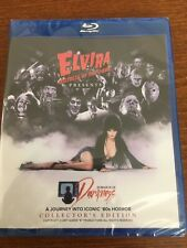 """Elvira Mistress of the Dark  """"In Search of Darkness""""  Blu Ray + Free Poster"""