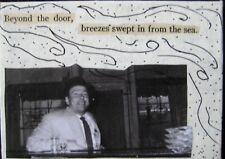 "ACEO-""BEYOND THE DOOR"" Original/Signed Mixed Media/Contemporary Art/Prose People"