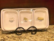 """NEW Rae Dunn by Magenta """" Cheese Platter """" OR """" His Ours Hers """"  Tray set $23.00"""