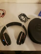 Monster Beats by Dr. Dre Studio Wired Headphones Black w/ Red Accents With Case