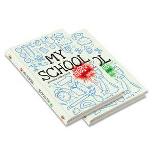 'My School' Rant and Rave Journal- Childrens Activity Book- Write/ Draw/ Doodle