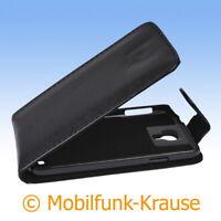Flip Case Etui Handytasche Tasche Hülle f. Samsung Galaxy S 4 (Schwarz)
