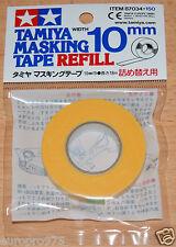 TAMIYA 87034 Ricarica Nastro adesivo Larghezza 10mm, 18m, lunghezza per RC Carrozzeria Gusci Nuovo con imballo