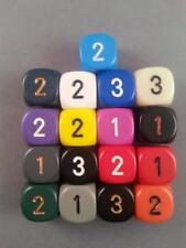 Chessex D3 Dice Multilisting 17 Colours D&D RPG