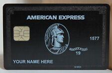 AMERICAN EXPRESS CENTURION BLACK CARD CUSTOMIZED 2020 Version