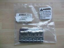 More details for fender strat vintage hardtail chrome bridge stamped saddles  + screws + hex key