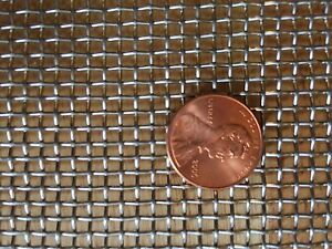 """Stainless Steel Crimped 304 Mesh #2 .063  Cloth Screen 12/""""x18/"""""""