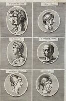 Numismatik Augustus Antike Rome Cleopatra Diomedes Hannibal Byzas Rom 1690