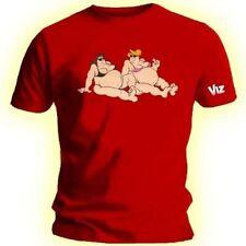 Herren T-Shirt Viz erschossen Fat Schlacken lustig Humor Neuheit Größe Small