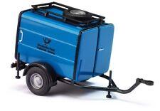 Busch 54904 Tsa Rimorchio, Blu Posta, Modello Auto 1:87 (H0)