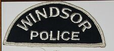 WINDSOR POLICE Canada Canadian PD patch