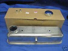 MG MIDGET 1500 ALLOY ROCKER COVER & NUTS & CHROME CAP TRIUMPH SPITFIRE & gasket