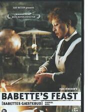 DVD - BABETTES GAESTEBUD - LE FESTIN DE BABETTE - DANSK SVENSK FRANCAIS / NL