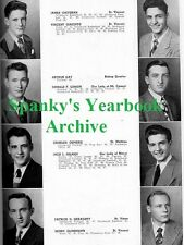 1948 Chicago DePaul Academy School Yearbook~Photos~History~Football~Boxing~++++