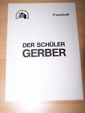 DER SCHÜLER GERBER - Presseheft ´81 - GABRIEL BARYLLI