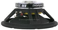 "mivoc AW 3000 12"" (30 cm) Tieftonsystem"